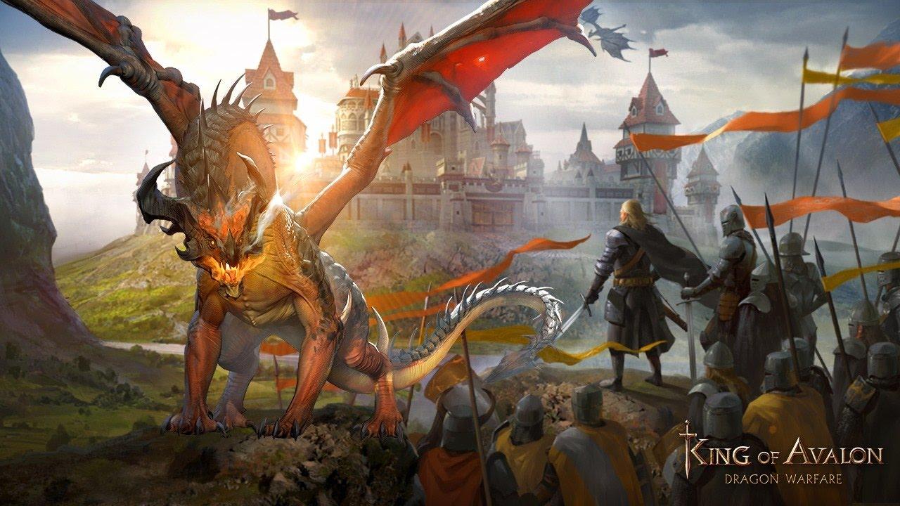 King of Avalon: Dragon Warfareapk android, pc et ios