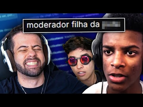 OS PIORES BANS DO CHAT DO CASTRIN & LASERS