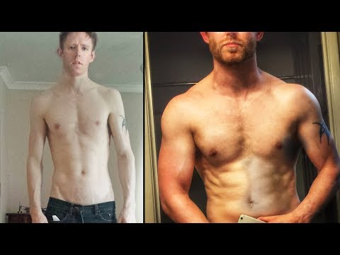 2 Year Body Transformation - StrongLifts 5 x 5 - YouTube