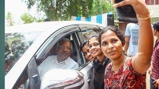 വടകരയിൽ തരംഗമായി സഖാവ് പി ജെ 💪💪വടകര എൻജിനീയറിങ് കോളജിൽP Jayarajan