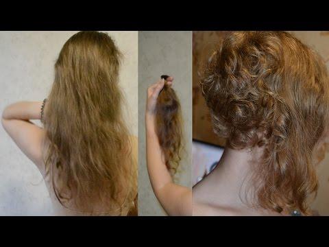 Вопрос: Как самостоятельно подстричь вьющиеся волосы?