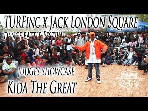 Kida The Great Judges Showcase | TURFinc x Jack London Square Dance Battle Festival