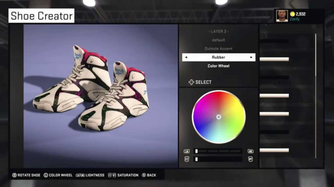 2e86057834c58b NBA 2K15 Shoe Creator - Reebok Kamikaze 1