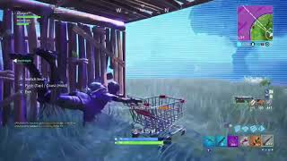 Random Shopping Cart Bug! | Fortnite: Battle Royale | Funny Clip