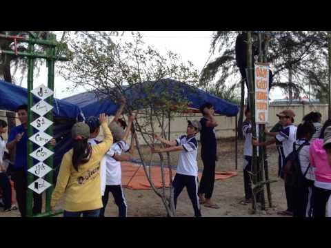 THPT Tôn Đức Thắng Ninh Thuận, toàn cảnh dựng trại 2014