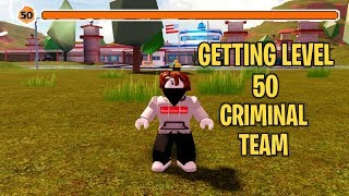 GETTING LEVEL 50 ON THE CRIMINAL TEAM!!! | Roblox Jailbreak Jet Missiles Update