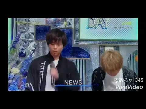 THE MUSIC DAY  NEWS  登場シーン