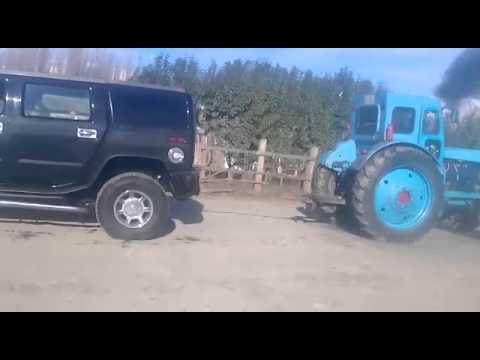Hummer vs Tracktor