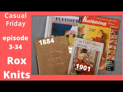 Treasure In Antique Knitting Manuals  // Casual Friday 3-34