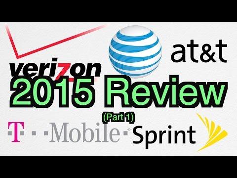 Verizon vs AT&T vs Sprint vs T-Mobile - 2015 Review (PART 1 of 2) - Network Wars 4
