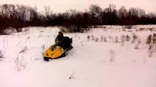 Снегоход Стелс росомаха по не глубокому снегу(, 2015-02-01T10:06:05.000Z)