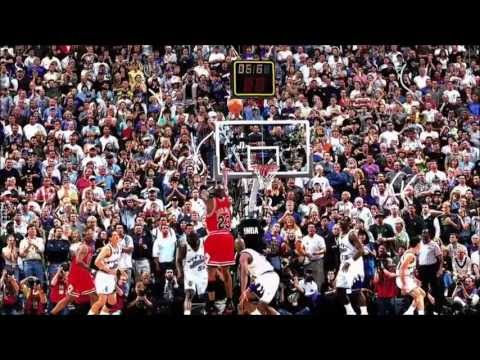 Michael Jordan - Last Shot (Game 6, 1998 NBA Finals)