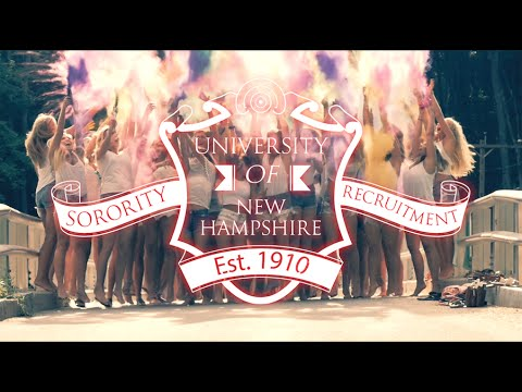 University of New Hampshire Recruitment Season 2016