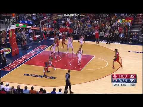Houston Rockets vs Washington Wizards extended Highlights 2017