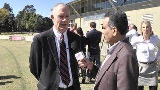 Greg Chappell talks to Raj on OzIndian TV Show