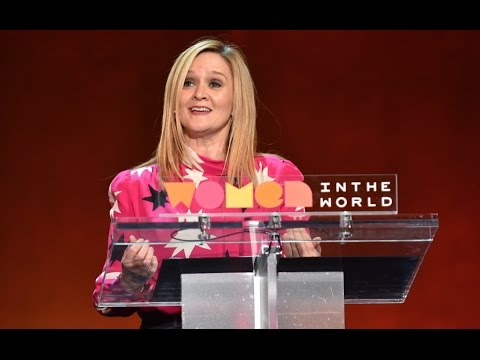 Samantha Bee to Hillary Clinton: 'You deserve to hear it 100 times -- it should have been you'