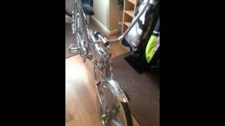 custom lowrider bike with music lol