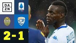 Wieder Rassismus-Eklat! Mario Balotelli wird beleidigt: Hellas Verona - Brescia 2:1 | Serie A | DAZN