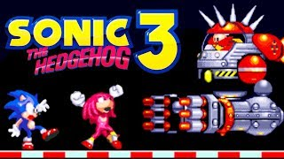 Sonic The Hedgehog 3 (Ёжик Соник 3) прохождение (Sega Mega Drive, Genesis)