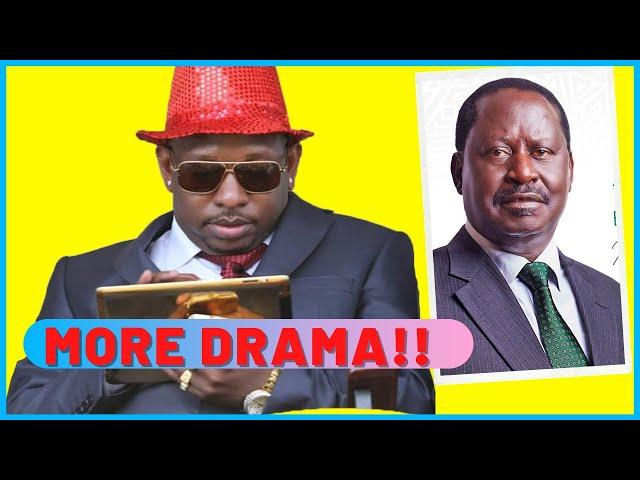 MORE DRAMA As Mike Sonko SNEAKS Into Raila Odinga Capitol Hill Office  | The Inside Story