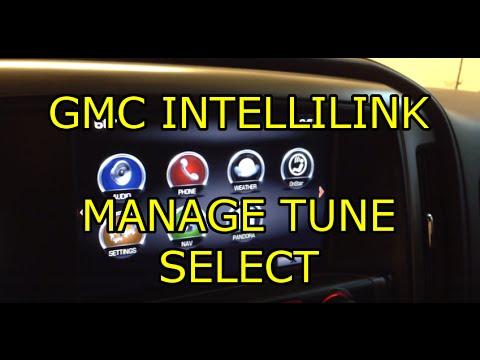 Intellilink Navigation Walkthrough 2014 Gmc Sierra Doovi