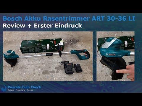 Bosch Akku Rasentrimmer ART 30 36 LI | Review und erster Eindruck