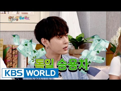 Yong Junhyung's monthly royalty = German Car? [Happy Together/2016.08.04]