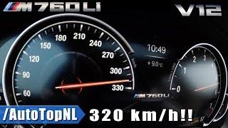 0-320km/h BMW M760Li xDrive ACCELERATION & TOP SPEED by AutoTopNL