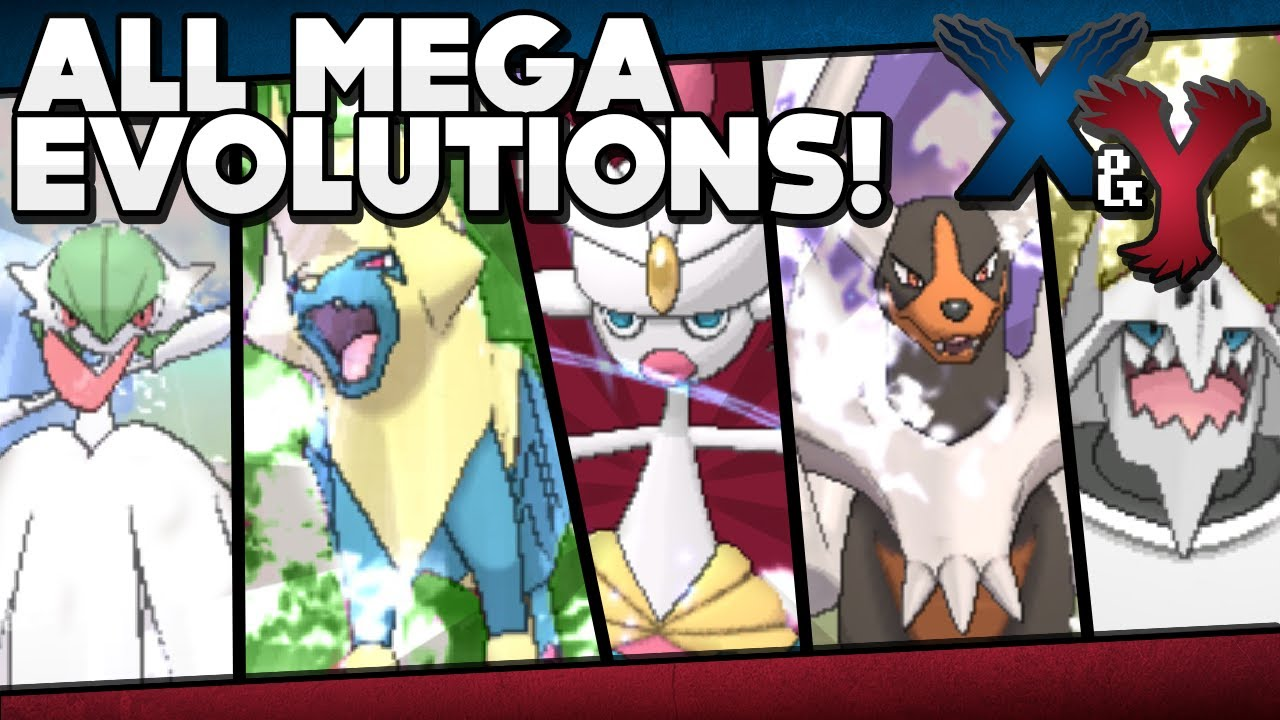 Pok mon x and y all mega evolutions w stats and locations youtube - Pokemon mega pokemons ...