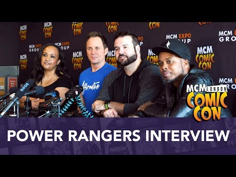 Mighty Morphin Power Rangers Cast Interview MCM Comic Con London