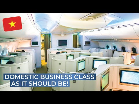 TRIPREPORT | Vietnam Airlines (BUSINESS CLASS) | Boeing 787-9 | Hanoi - Ho Chi Minh City