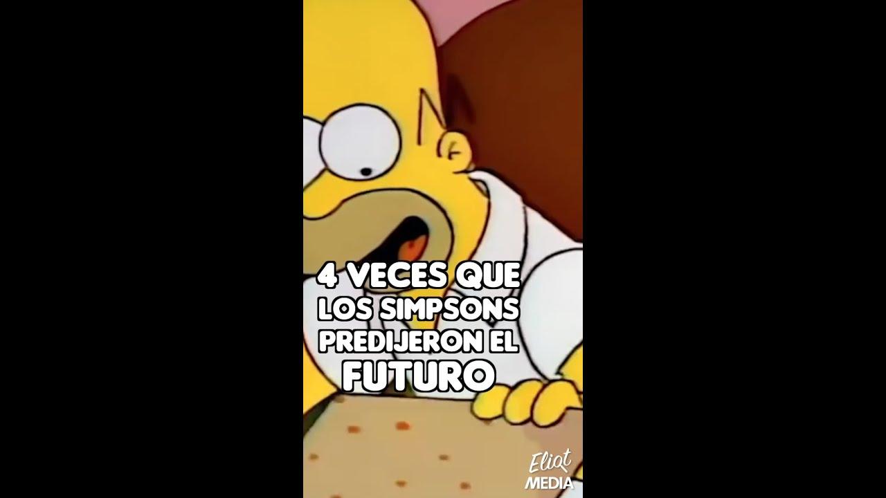 ESTAS SON TODAS LAS VECES QUE LOS SIMPSONS PREDIJERON EL FUTURO #Shorts