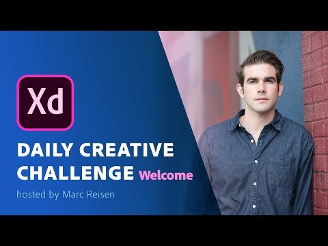 Adobe XD - Daily Creative Challenge - Welcome