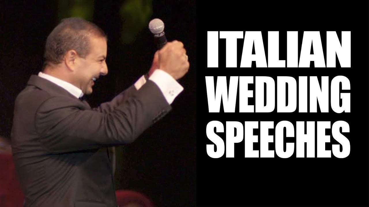 italian wedding speech joe avati