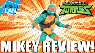 Michelangelo Rise of the TMNT Action Figure Video Review