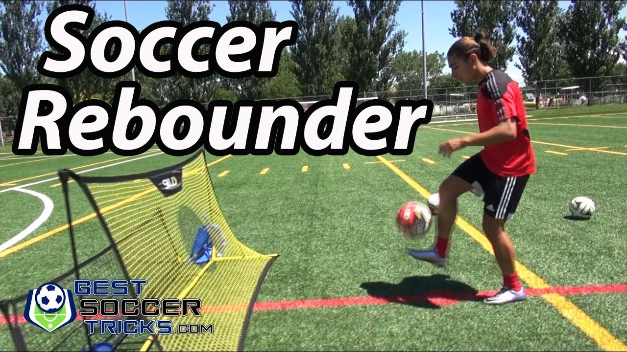 b2c36b39f Cool Way to Use a Soccer Rebounder - YouTube