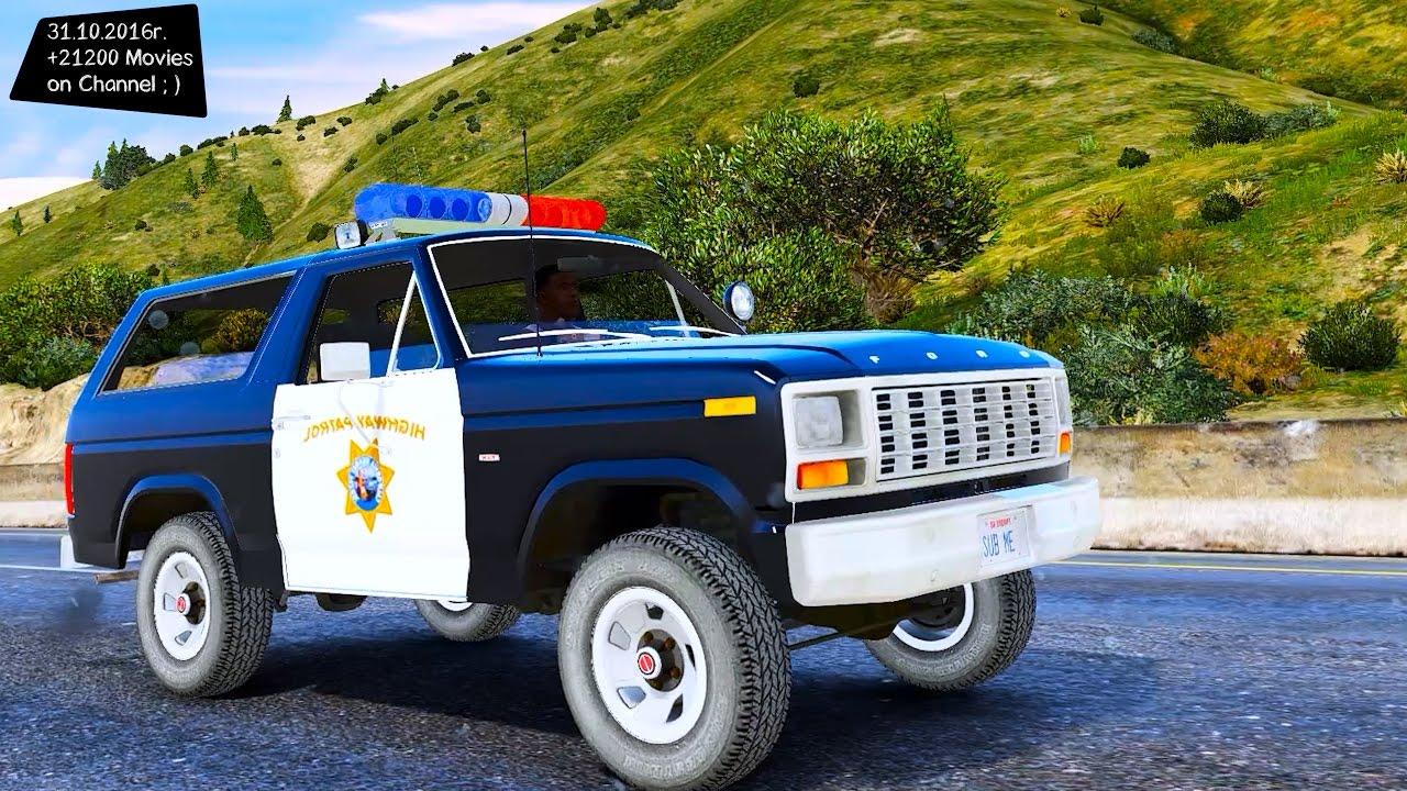 1980 Ford Bronco California Highway Patrol 1.2