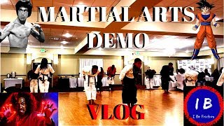 Martial Arts Demonstration Vlog   National Champion Edition