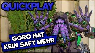 Goro hat keinen Saft mehr! • Overwatch Quickplay