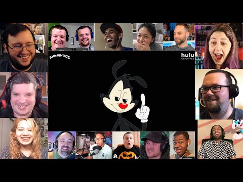 Everybody React to Animaniacs - Official Trailer (2020) MASHUP