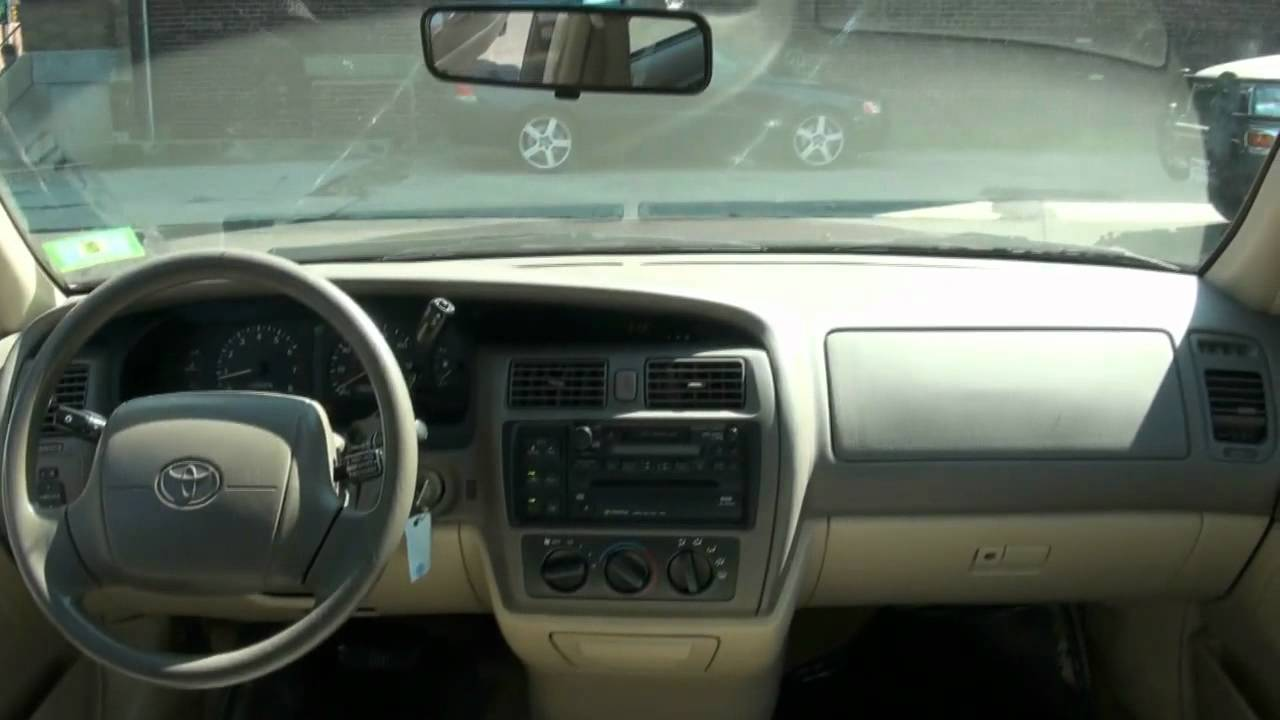 Download 1998 Toyota Avalon Xls Interior