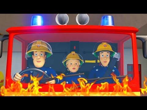 Brandweerman Sam Nederlands : Wolf Roepen 🚒 1 uur - Compilatie filmpje 🔥 Nieuwe Afleveringen