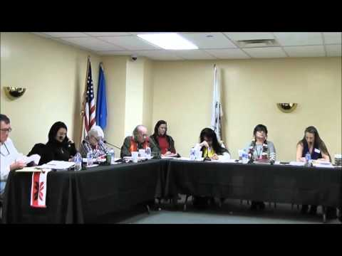Delaware Tribe of Indians Tribal Council meeting 01192016