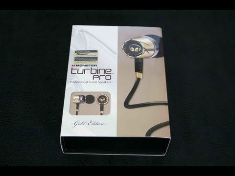 Monster Turbine Pro Gold Edition Headphones Review