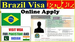 BRAZIL VISA APPLY 2019 - ONLINE BRAZIL VISA APPLICATION FORM
