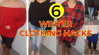 WINTER 2018 CLOTHING HACKS EVERY GIRL SHOULD KNOW