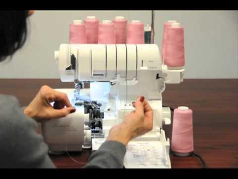Baby Lock Serger Alternate Threading Methods YouTube Interesting Imagine Sewing Machine