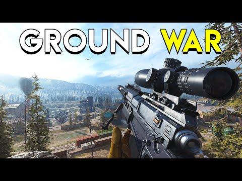 Ground War is Chaos! - CoD: Modern Warfare Ground War Gameplay (PC)
