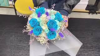 如何包裝花束?How to pack a bouquet?