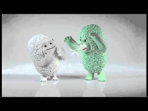 TIC TAC YETI - duo de menthe verte (publicité 2014) - YouTube
